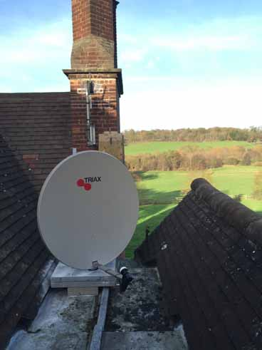 Aerial & Satellite dish installation