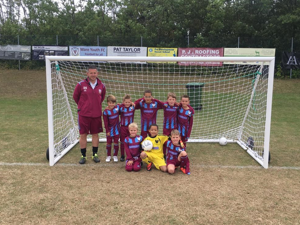 Hertford TV are proud shirt sponsors of the Ware Youth Clarets Under8 football team